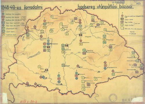 1848 magyarország térkép 1848 Magyarország Térkép   Térkép