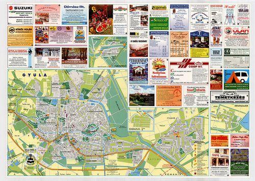 gyula vasútállomás térkép Gyula térképe [BéML XV 1 a 309] | Térképek | Hungaricana gyula vasútállomás térkép