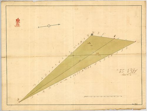No. 1779:1-2. Csepel határában Buda által használt területré... [S 11 - No. 1779:1-2.]