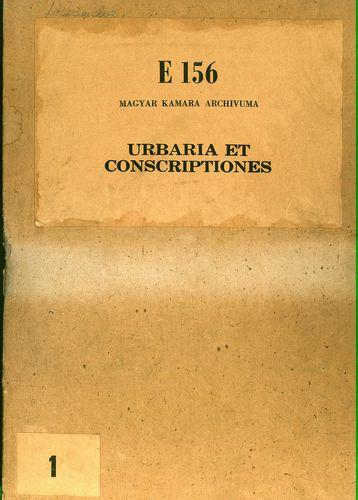 HU MNL OL E 156 - a. - Fasc. 001. - No. 001.