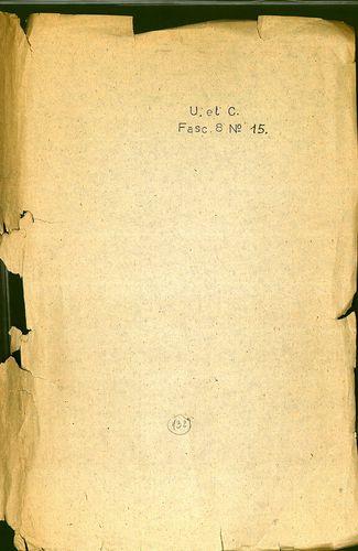 HU MNL OL E 156 - a. - Fasc. 008. - No. 015 / a.