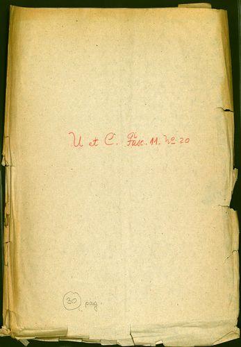 HU MNL OL E 156 - a. - Fasc. 011. - No. 020.