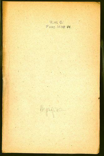 HU MNL OL E 156 - a. - Fasc. 014. - No. 071.