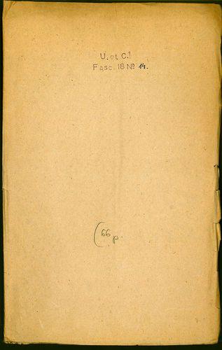 HU MNL OL E 156 - a. - Fasc. 018. - No. 014.