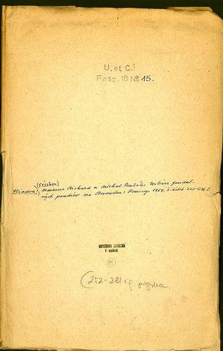 HU MNL OL E 156 - a. - Fasc. 018. - No. 015.