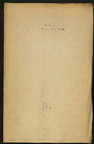 HU MNL OL E 156 - a. - Fasc. 020. - No. 011.