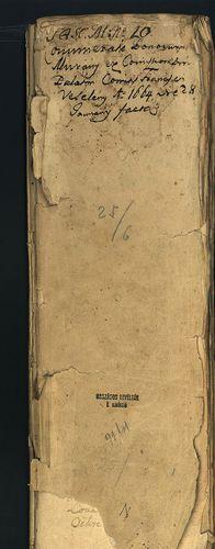 HU MNL OL E 156 - a. - Fasc. 025. - No. 006.