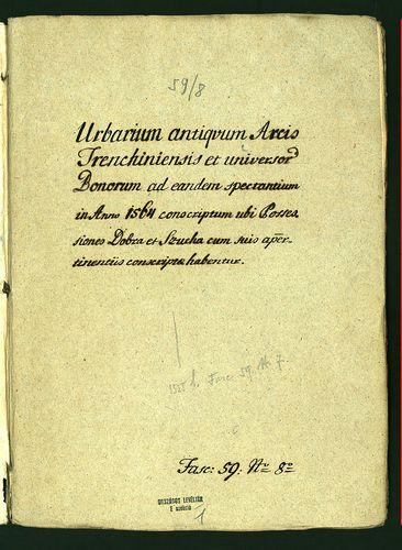 HU MNL OL E 156 - a. - Fasc. 059. - No. 008.
