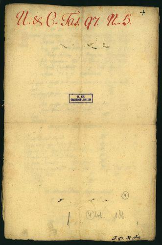HU MNL OL E 156 - a. - Fasc. 097. - No. 005.