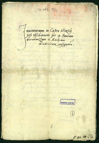 HU MNL OL E 156 - a. - Fasc. 099. - No. 002.