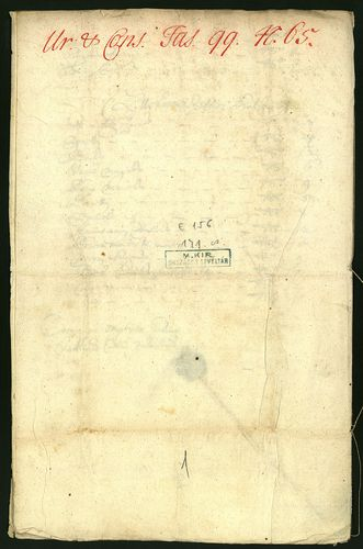 HU MNL OL E 156 - a. - Fasc. 099. - No. 065.