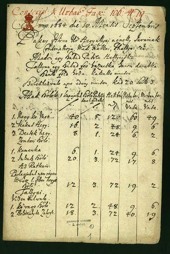 HU MNL OL E 156 - a. - Fasc. 106. - No. 019.
