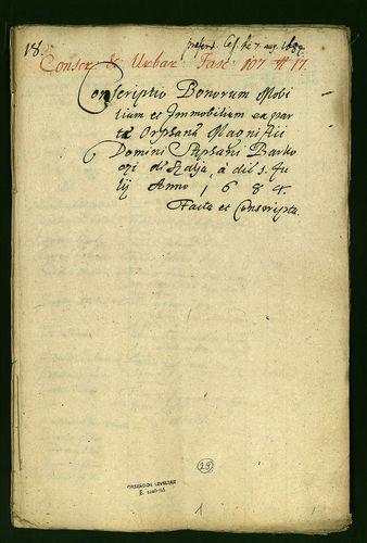 HU MNL OL E 156 - a. - Fasc. 107. - No. 017.