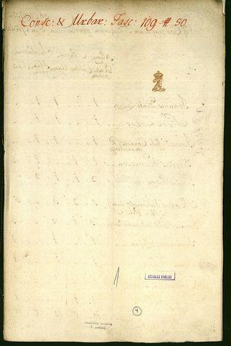 HU MNL OL E 156 - a. - Fasc. 109. - No. 050.