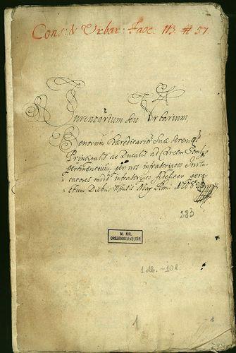 HU MNL OL E 156 - a. - Fasc. 113. - No. 057.