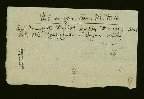 HU MNL OL E 156 - a. - Fasc. 114. - No. 012.