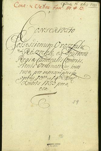 HU MNL OL E 156 - a. - Fasc. 114. - No. 013.