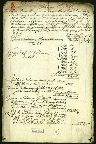 HU MNL OL E 156 - a. - Fasc. 116. - No. 097.