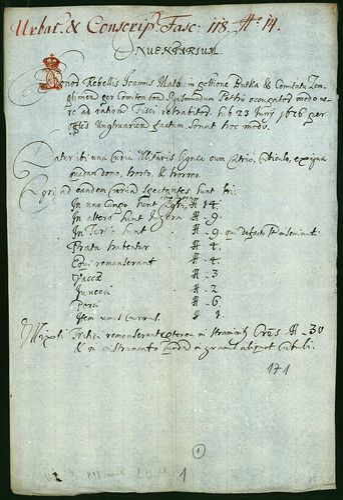 HU MNL OL E 156 - a. - Fasc. 118. - No. 014.