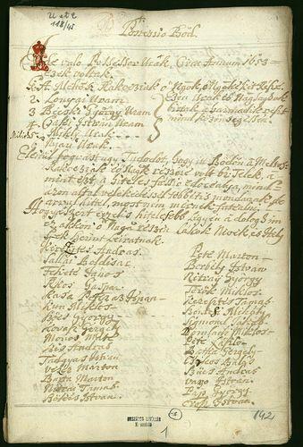 HU MNL OL E 156 - a. - Fasc. 118. - No. 045.