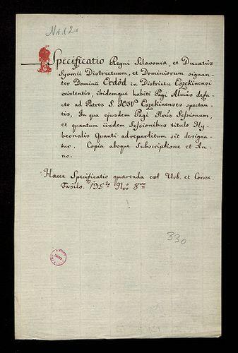 HU MNL OL E 156 - a. - Fasc. 128. - No. 012.