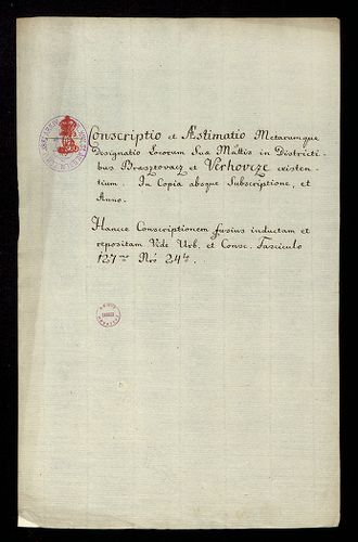 HU MNL OL E 156 - a. - Fasc. 139. - No. 011.
