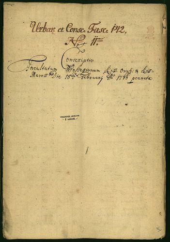 HU MNL OL E 156 - a. - Fasc. 142. - No. 011.
