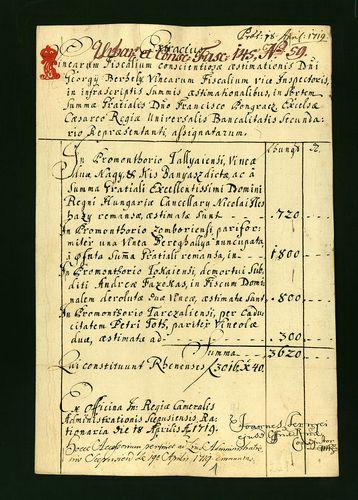HU MNL OL E 156 - a. - Fasc. 145. - No. 059.