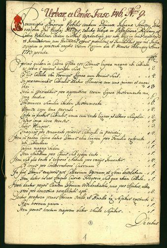 HU MNL OL E 156 - a. - Fasc. 146. - No. 009.