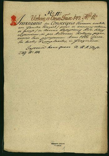 HU MNL OL E 156 - a. - Fasc. 147. - No. 011.