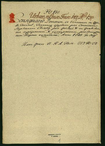 HU MNL OL E 156 - a. - Fasc. 147. - No. 014.