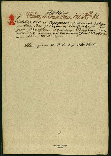 HU MNL OL E 156 - a. - Fasc. 147. - No. 015.