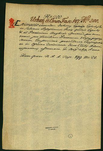 HU MNL OL E 156 - a. - Fasc. 147. - No. 200.