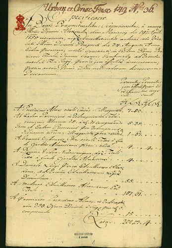 HU MNL OL E 156 - a. - Fasc. 149. - No. 036.