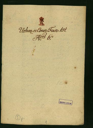 HU MNL OL E 156 - a. - Fasc. 151. - No. 006.