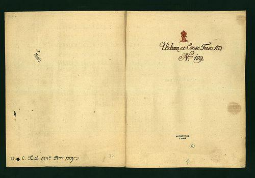 HU MNL OL E 156 - a. - Fasc. 153. - No. 109.
