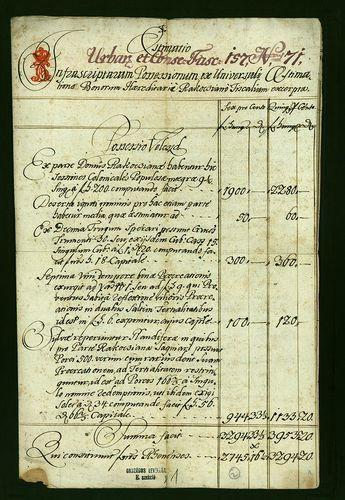 HU MNL OL E 156 - a. - Fasc. 157. - No. 071.