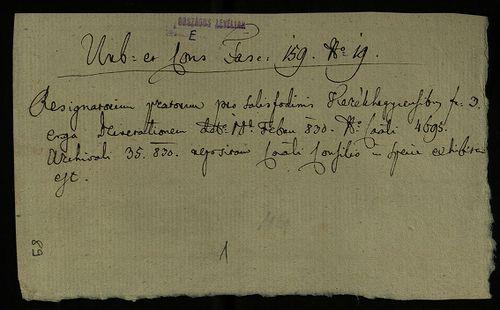 HU MNL OL E 156 - a. - Fasc. 159. - No. 019.