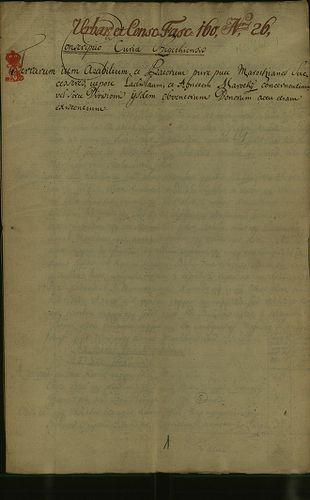 HU MNL OL E 156 - a. - Fasc. 160. - No. 026.