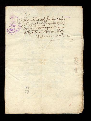 HU MNL OL E 156 - a. - Fasc. 166. - No. 006.