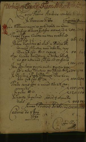 HU MNL OL E 156 - a. - Fasc. 166. - No. 012.