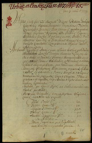 HU MNL OL E 156 - a. - Fasc. 167. - No. 018.