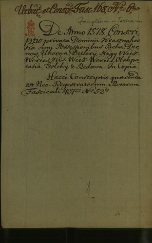 HU MNL OL E 156 - a. - Fasc. 168. - No. 006.