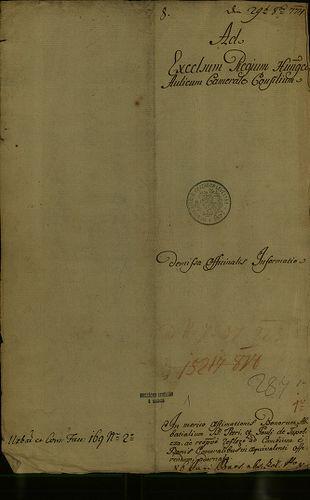 HU MNL OL E 156 - a. - Fasc. 169. - No. 002 / a.