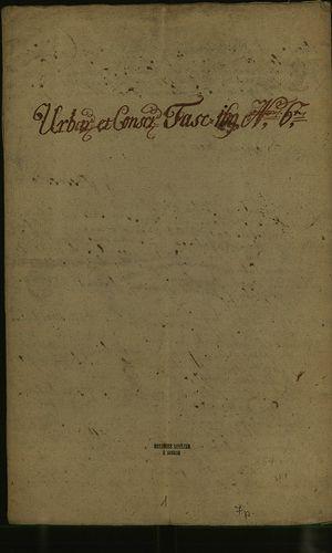 HU MNL OL E 156 - a. - Fasc. 169. - No. 006.