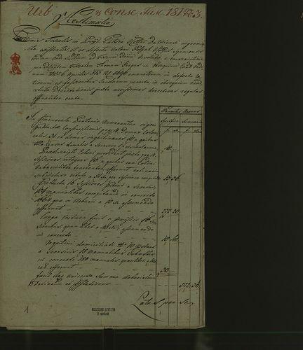 HU MNL OL E 156 - a. - Fasc. 181. - No. 003.