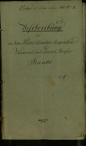 HU MNL OL E 156 - a. - Fasc. 181. - No. 008 / a.
