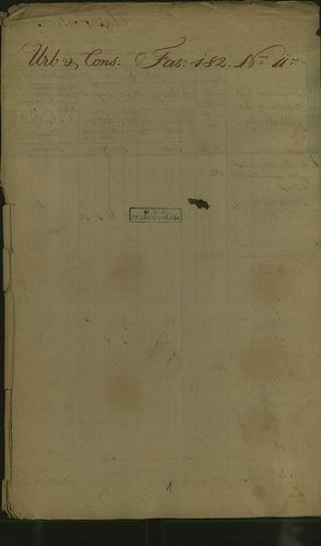 HU MNL OL E 156 - a. - Fasc. 182. - No. 011.