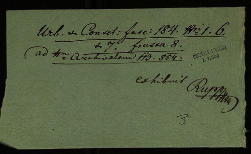 HU MNL OL E 156 - a. - Fasc. 184. - No. 006.