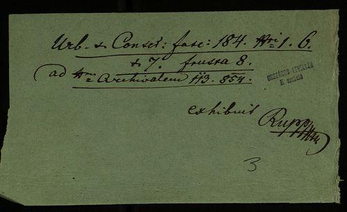 HU MNL OL E 156 - a. - Fasc. 184. - No. 007.